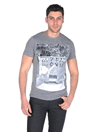 Altru Mens Metal Only Tee - Heather grey - Medium
