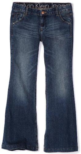 Calvin Klein Jeans Women's Petite Scout Flare Jean, Sierra, 29x10P