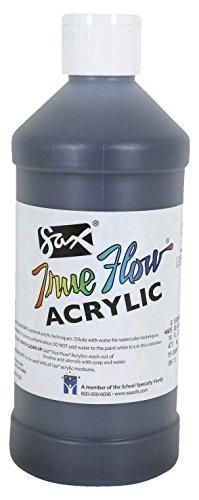 Sax True Flow Medium-Bodied Acrylic Paint - Pint - Mars Black