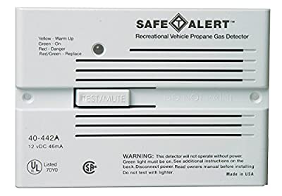MTI Industrie Safe T Alert Professional Propane/LP Gas Alarm - Flush Mount