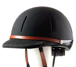 Devon-Aire Adult Mesa Trial Riding Helmet, Small/Medium, Black