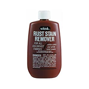whink 01261 6oz rust stain remover home kitchen. Black Bedroom Furniture Sets. Home Design Ideas