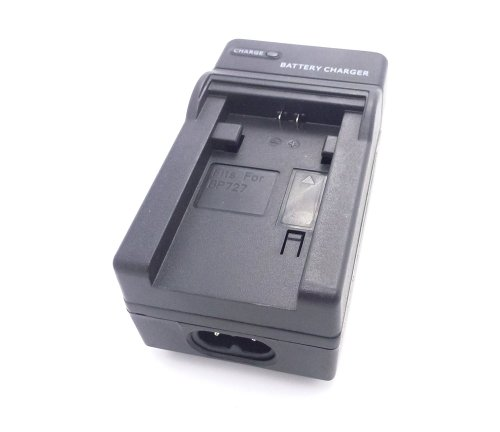 Top Elecs AC & Car Travel Battery Chager für BP-709 BP-718 BP718 BP-727 BP727 Akku von Canon LEGRIA HF M-Serie: LEGRIA HF M50 LEGRIA HF M500 Kamera ...