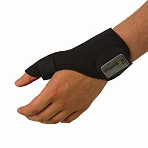 New Physioroom Thumb Stabiliser Support Splint for Protection and Prevention-Ski,Sport,Gym, Medical-All Sizes Small Right