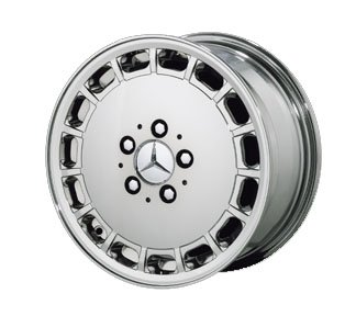 Replica 15&#8243; New Look (15 hole) Chrome Wheels