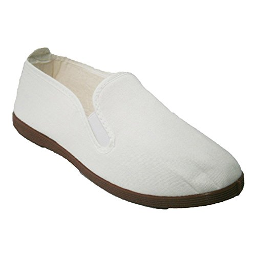 Pantofole per tai chi, yoga e Kunfu Irabia bianco taille 40
