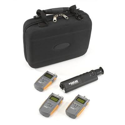 Black Box Network - FOTK-SM-VFL - Black Box Fiber Optic Test Kit with Visual Fault Locator, Single-Mode - Fiber Optic Cable Testing
