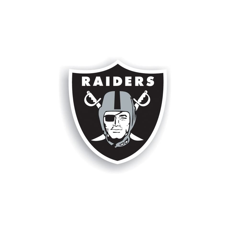 BSS   Oakland Raiders NFL 12 Vinyl Magnet