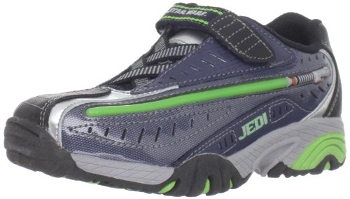 Buy Stride Rite Dueling Lightsaber Lighted Sneaker (Toddler/Little Kid),Navy/Green,11 M US Little Kid