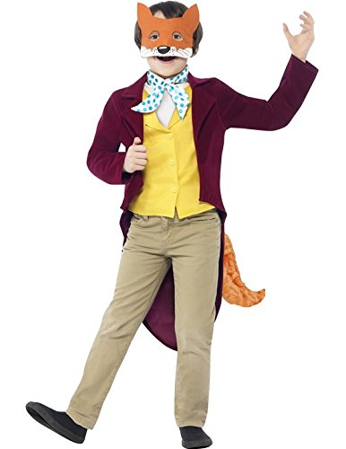 Child Roald Dahl Fantastic Mr Fox Fancy Dress Costume