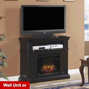 Classicflame Oakfield Wall/Corner Electric Fireplace Media Center In Espresso - 23De8202-E451