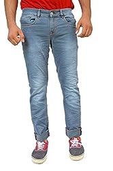 Evanzo Men's Slim Jeans (UG3CACEA4E6_Blue_36W x 32L)