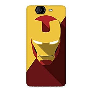 Cute Real Genius Back Case Cover for Canvas Knight A350