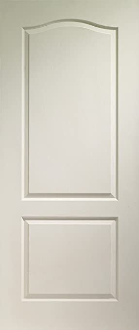 Internal White Moulded Classique 2 Panel Fire Door