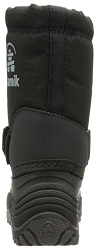 Kamik Rocket Cold Weather Boot (Toddler/Little Kid/Big Kid),Black,12 M US Little Kid