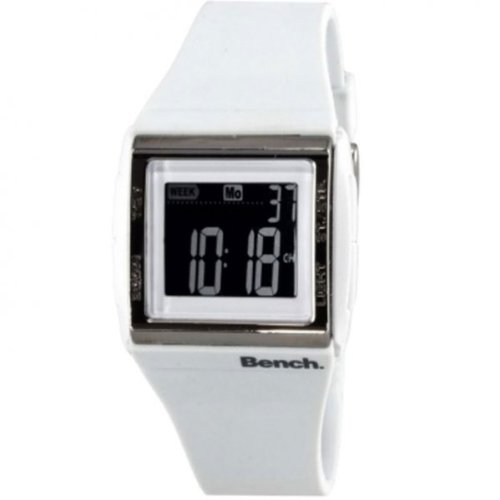 Bench White Ladies Digital Watch - BC0364WH