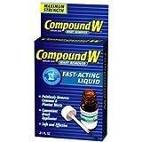 Compound W Liquid Wart Remover, .31 fl oz (Tamaño: 0.31)