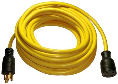 Conntek 20602 Generator Extension Cord 50-Foot 10/4 30 Amp 125/250 Volt 4 Prong Eextension Cord