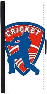 Snoogg Cricket Logo Designer Protective Phone Flip Case Cover For Lenovo Vibe X2