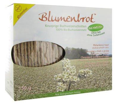 Buckwheat Crispbread glutenfree, saltfree
