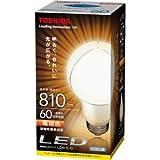 東芝 LED電球 一般電球形 10.6W(全光束:810 lm/電球色相当)E-CORE(イー・コア) LDA11L-G(TO)