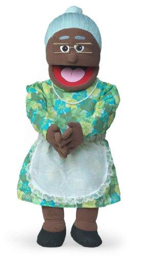 """Granny"" African American 30"" Professional Full/Half Body Puppet"
