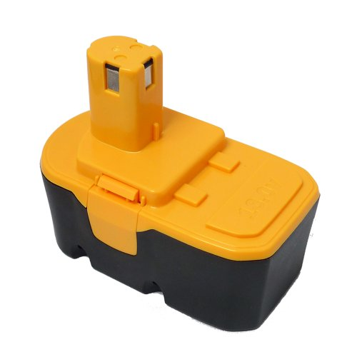 Maximalpower PTB RYO Ryobi replacement 18 18v 2000mAh Ni-Cd Battery for Ryobi 18v power Tools