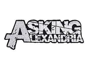 Amazon.com: ASKING ALEXANDRIA Logo Iron On Sew On Embroidered Patch