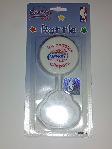 LA Los Angeles Clippers NBA Baby Rattle - 1