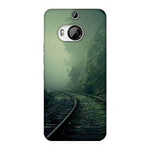 Delighted Fog Track Back Case Cover for HTC One M9 Plus