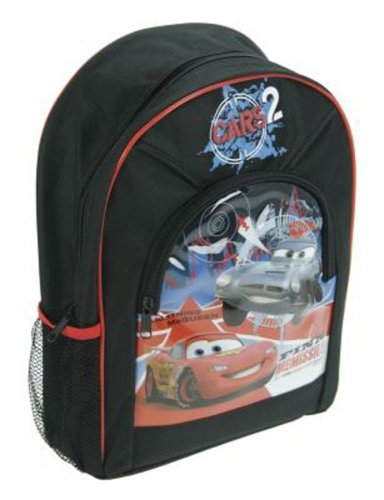 Imagen principal de Trade Mark Collections Disney Cars 2 - Mochila escolar (35 x 24 x 9 cm)
