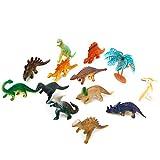 【ノーブランド品】人気動物のフィギュア 恐竜セット アニマル 12個セット
