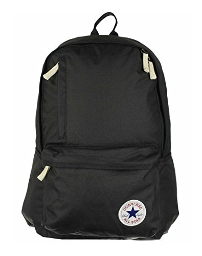 Converse zaino All Star Core, Unisex, Zaino, Rucksack Core Poly Original Backpack, nero, 43 x 46 x 16 cm, 25 Liter