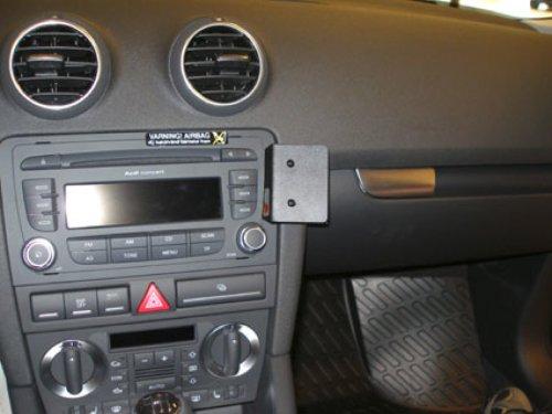 Brodit 853991 ProClip Kfz-Halterung für Audi A3/S3 07-08 (Angled Mount) schwarz