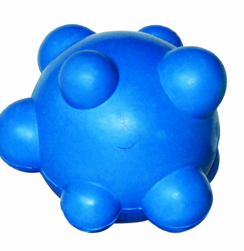 dogit-nobby-rubber-ball-toy-blue