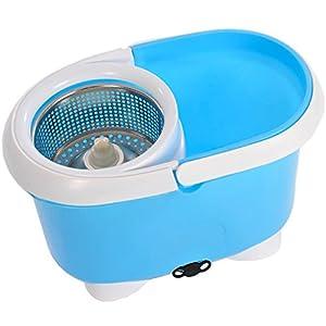 seau et balai frange de lavage pour le sol whizz magic micro fibre bleu 360 degr inc 2 t te. Black Bedroom Furniture Sets. Home Design Ideas