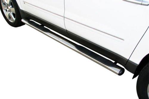 "For 02-09 Dodge Ram Quad Cab 4/"" Oval Hd Side Step Nerf Bars Running Boards Black"