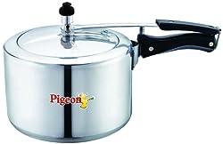 Pigeon Classic Aluminium Pressure Cooker with Inner Lid, 3 Litres