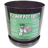 Flower Pot Hidden Can Diversion Safe in Black