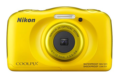 nikon-coolpix-s33-compact-digital-camera-yellow-132-mp-cmos-sensor-3x-zoom-27-inch-lcd