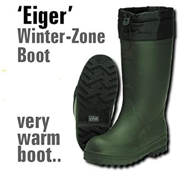 Eiger Winter-Zone Bottes en caoutchouc Taille 47