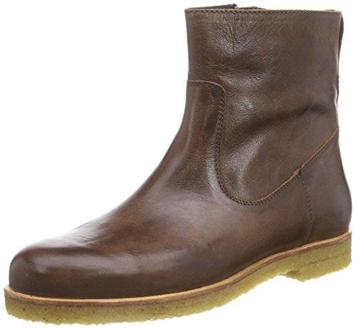 HIPH1607 - Stivali classici imbottiti a gamba corta Ragazza , Marrone (Braun (28LE)), 30