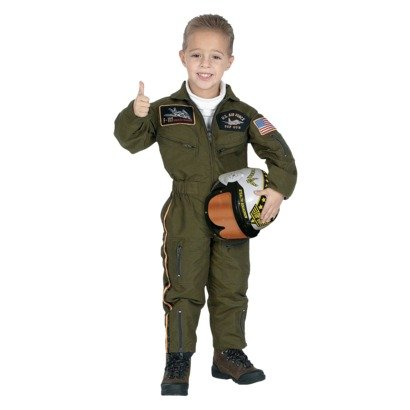 Jr. Air Force Pilot Top Gun Fighter Pilot boys halloween costume size 2-3