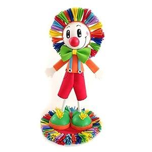 Amazon.com - Clown Fofucho Handmade 3D Foam Craft Doll by
