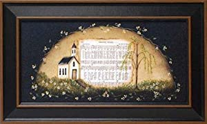Amazing Grace by Margie McGinnis 12x20 framed religious landscape print