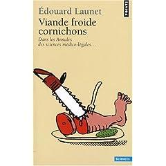 Viande froide cornichons - Edouard Launet
