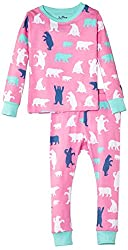Hatley Big Girls'  Pajama Set Polar Bear Girl