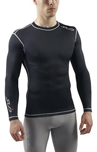 Sub Sports - Camiseta de compresión para hombre, talla XL, color negro