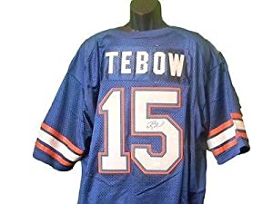 Tim Tebow Signed Jersey - Football Coa New - JSA Certified - Autographed College...