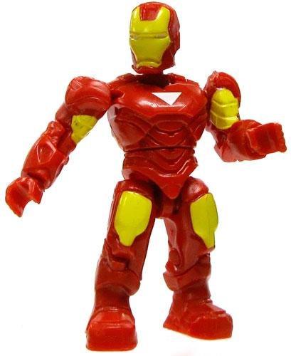 Marvel Mega Bloks LOOSE Series 1 Mini Figure Common Iron Man - 1